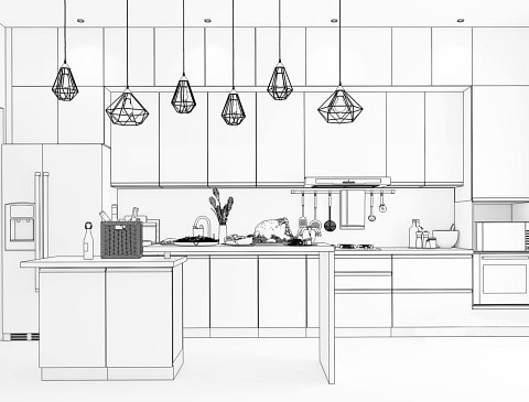 A guide to planning your kitchen interior design