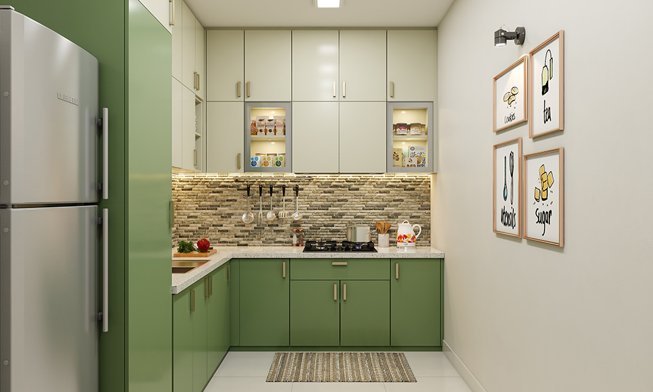 Acrylic Kitchen cabinets for your home| Design Cafe
