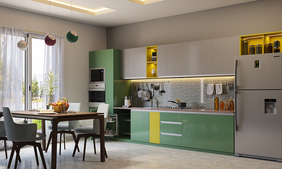 Acrylic kitchen cabinets for your home