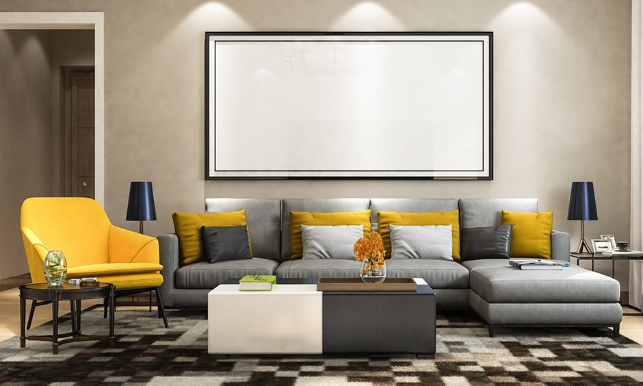 Living room seating ideas with a classic sofa makes additional seating