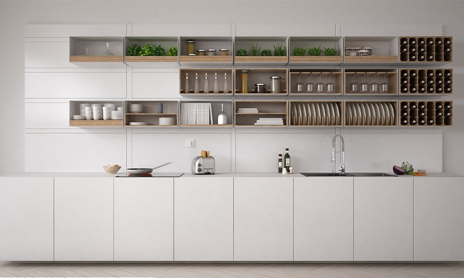 White kitchen cupboard designs for your home