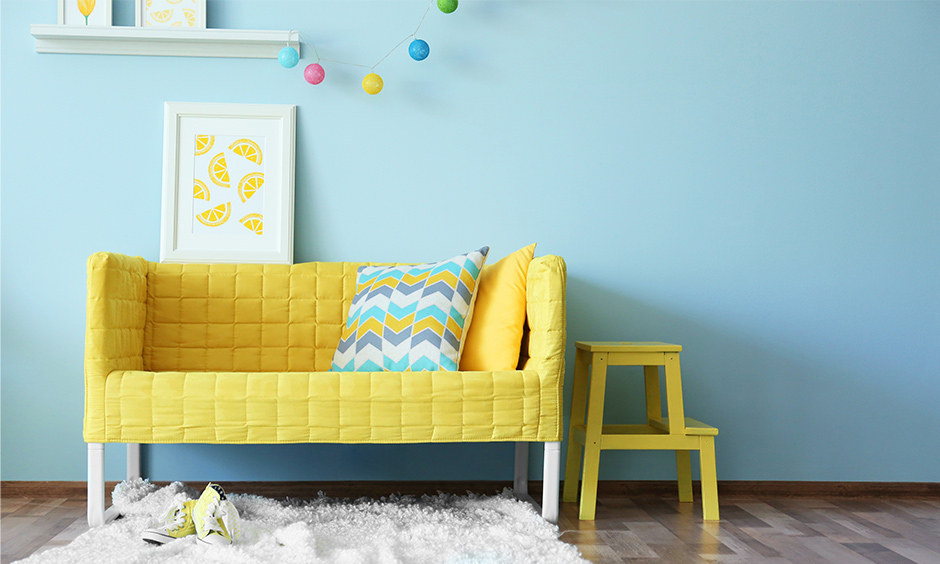 What colors match with blue is yellow furniture brightens the room colors that go with blue to create islands of colour in a sea of blue.