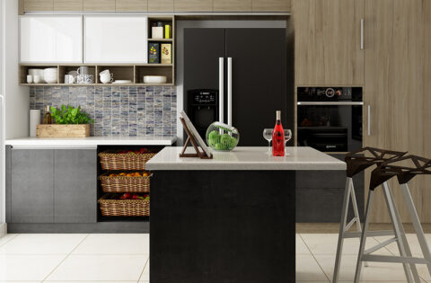 Types of small kitchen interior design for small house