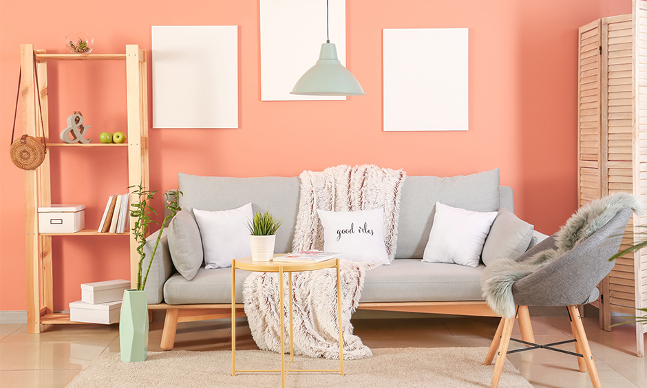 Pastel home decor for walls