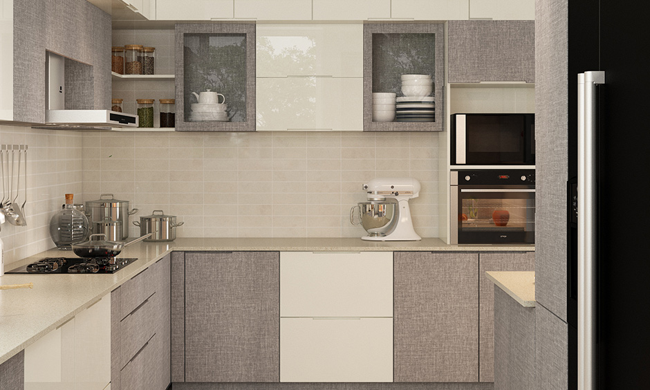 Kitchen modern pop plus minus design which include clean and straightforward styles that add dimension to the room
