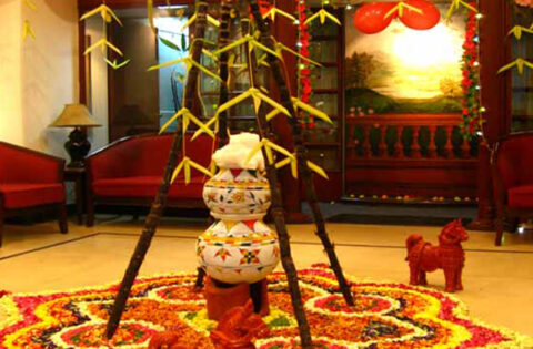 Beautiful festival decoration ideas at home