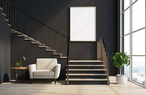Space saving staircases for small homes