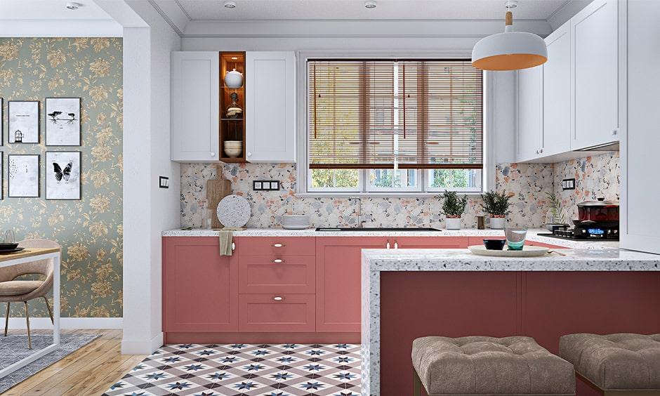 Modern kitchen design with breakfast bar for kitchen