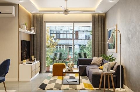 2bhk house interior design