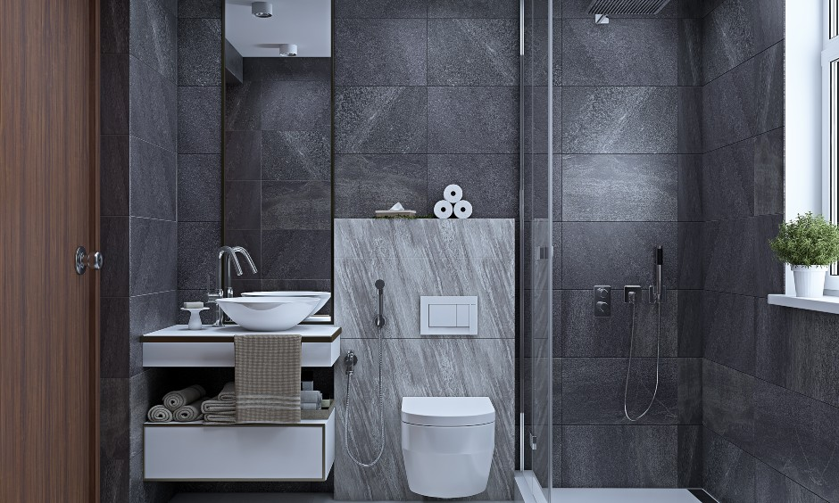 2bhk flat master bathroom designs in bangalore, hyderabad and mumbai