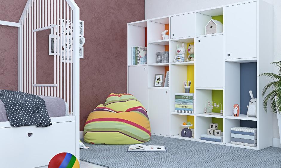 2bhk house kids children's bedroom design