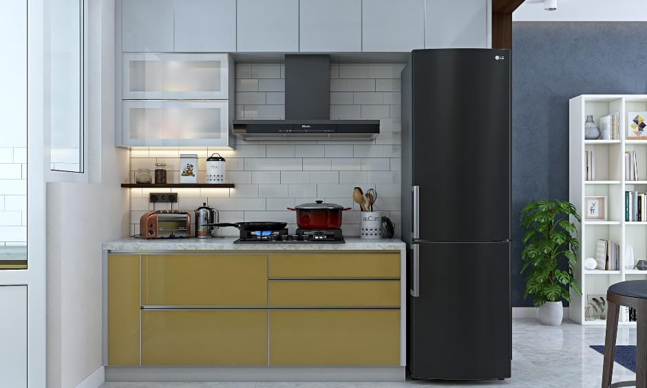 Kitchen interior design for 2bhk flat house design