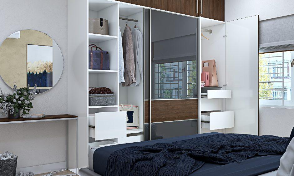 2bhk flat design master bedroom interior design in bangalore, mumbai and hyderabad