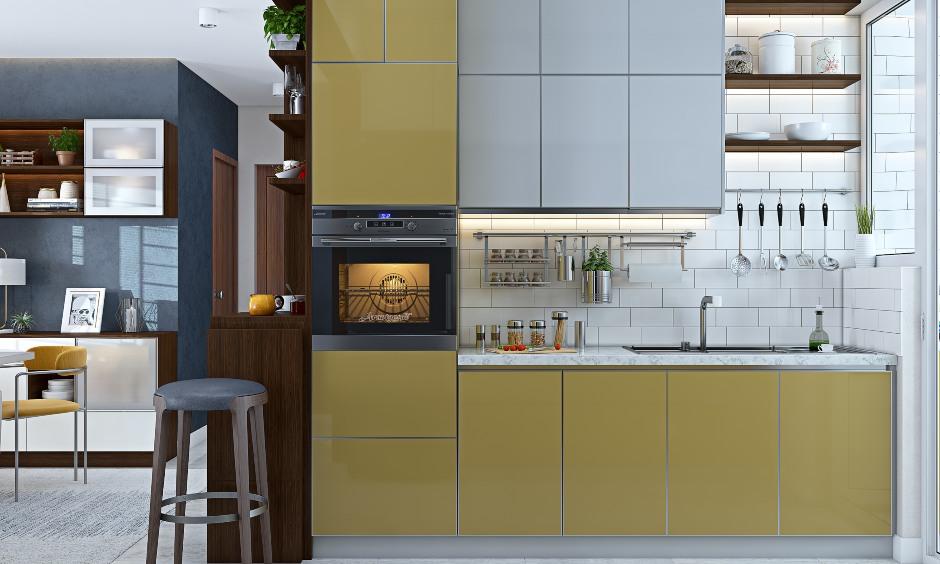Modern 2bhk flat house modular kitchen interior design