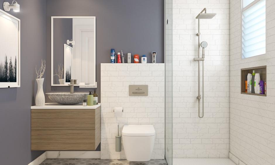 Bathroom interior designer in 2bhk apartment