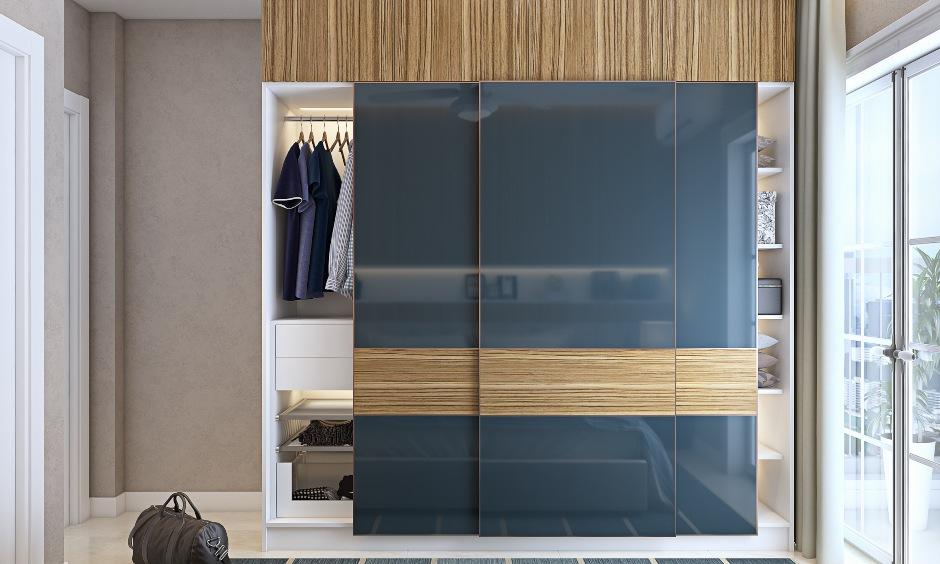 Wardrobe design for 2bhk house flat in mumbai, bangalore and hyderabad