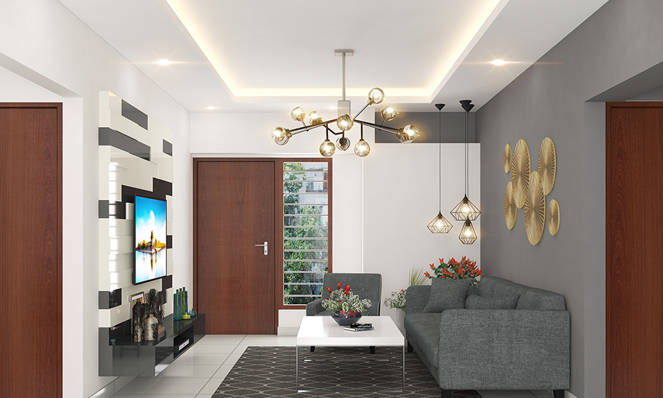 Chandelier and hanging decorative ceiling lights for living room is a perfect sanctuary for lighting options