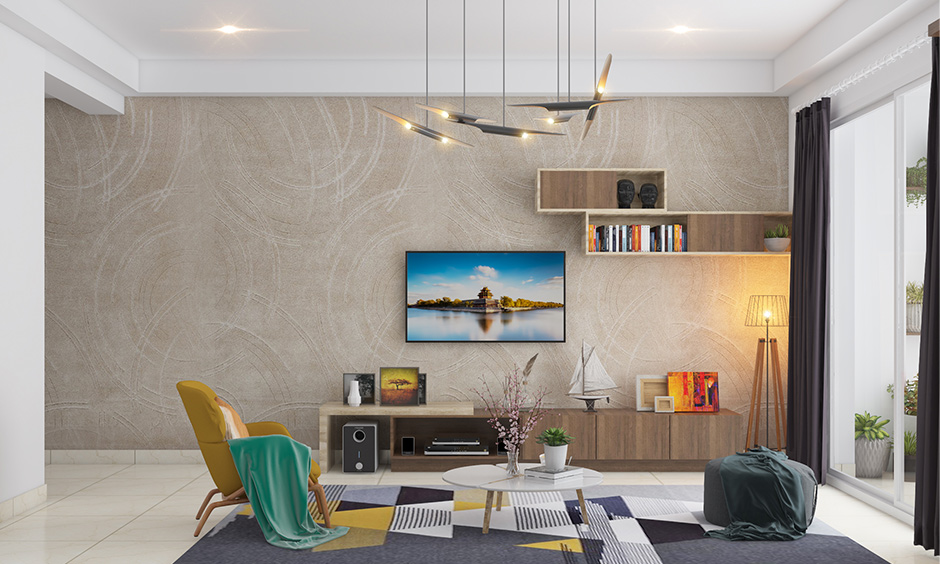 Beautiful false ceiling lights for living room