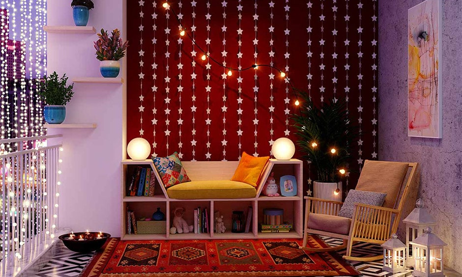 Diwali light decoration ideas for your home