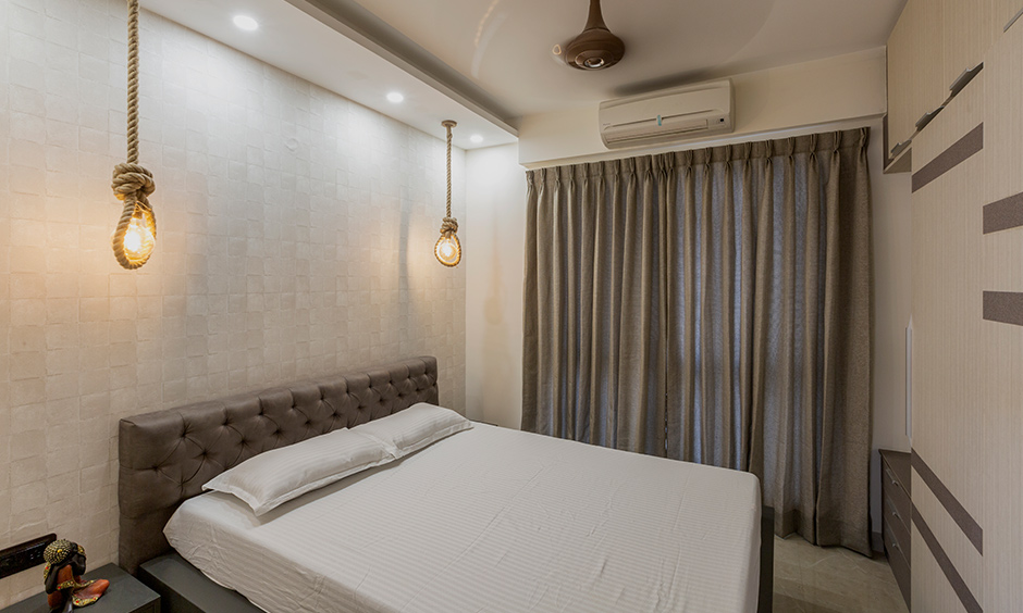 bedroom designed by interior firms in bangalore
