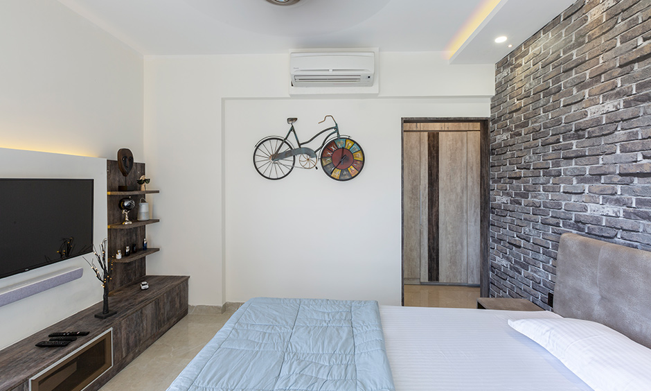 Bedroom designed by list of interior design companies in bangalore