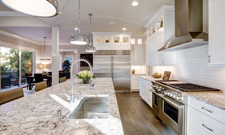 Pros or advantages of a granite countertop