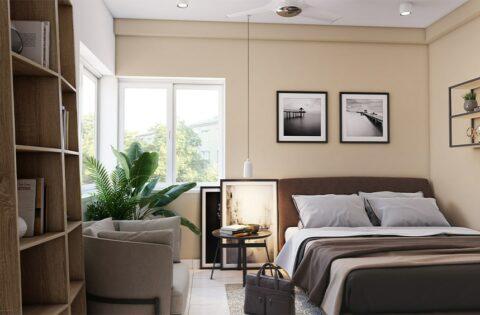Corner bed design ideas for your home