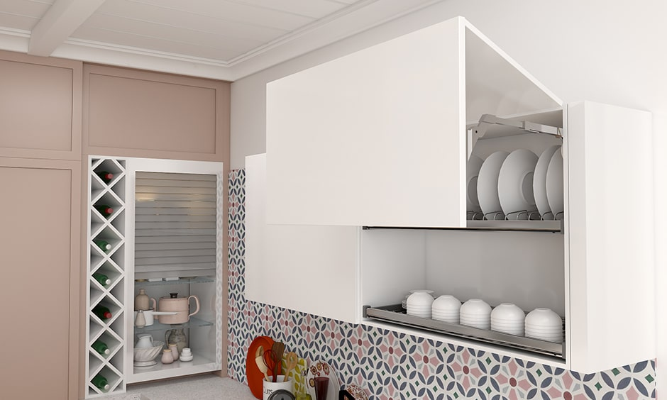 Modular crockery cabinets, place all your glassware in modular crockery cabinets