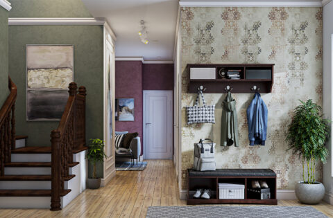 Best and luxury hallway wallpaper for your home