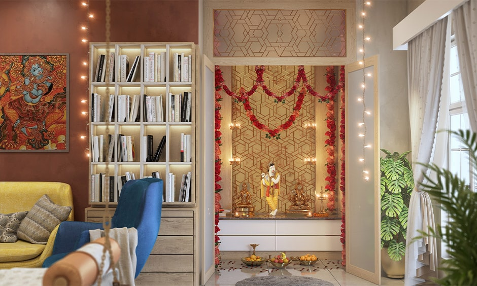 Dussehra decoration ideas for your pooja room