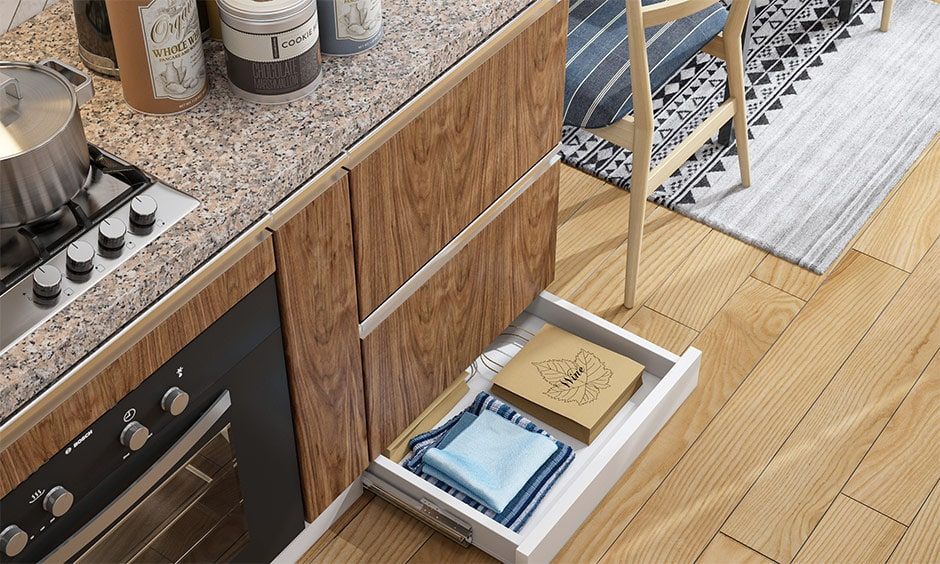 Skirting kitchen drawers organizer images to utilising dead space beneath base cabinets