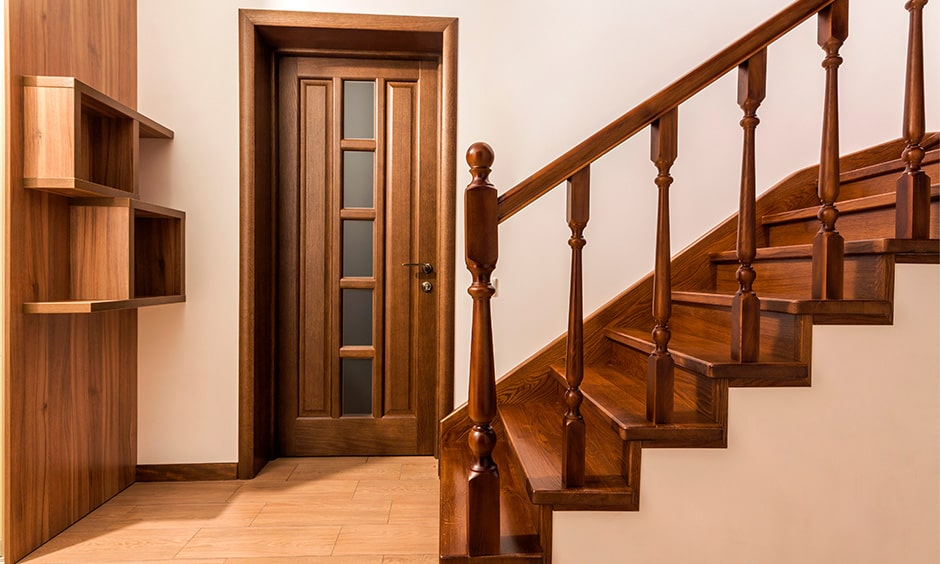 Choose square or rectangle shaped staircase as per staircase vastu
