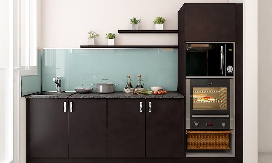 Glass kitchen backsplash colour ideas for your home