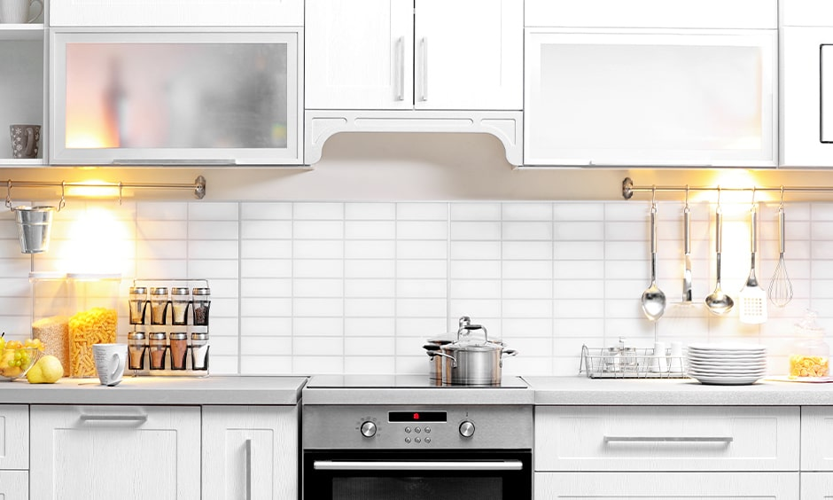 Kitchen spice rack stand in stainless steel comes in various shapes and sizes