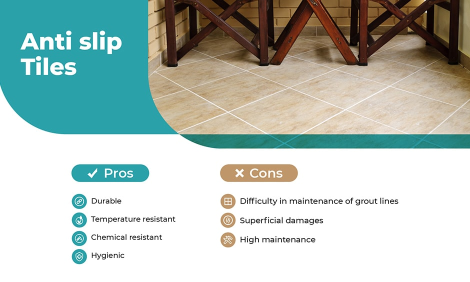Pros and cons of ceramic tiles for balcony flooring