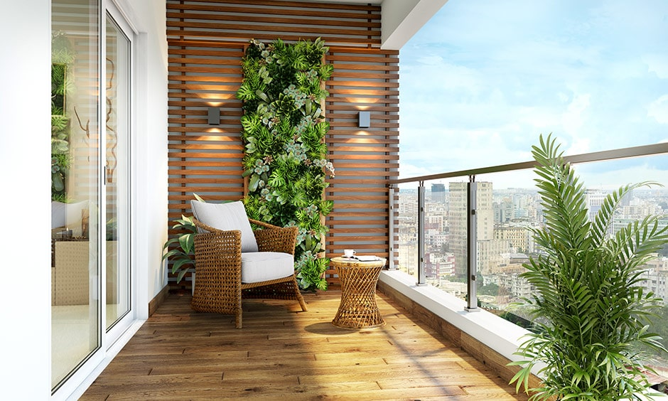 Wood as a material for balcony flooring