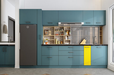 how to clean kitchen shiney