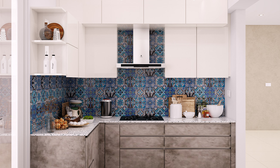 Moroccan tile backsplash lowes are a great way to add a whole lot of brightness to the smaller kitchenette.