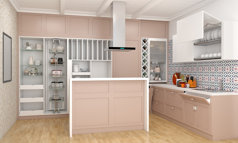 Pastel wooden modular kitchen images that you will not want to miss for your kitchen