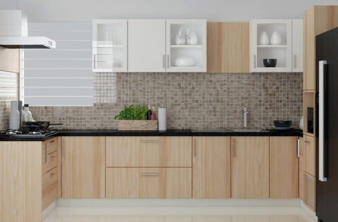 Wooden modular kitchen design for your home