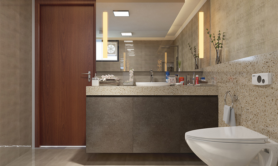 Bathroom constructed in east and west direction considered good for health is Vastu house plans east facing house.