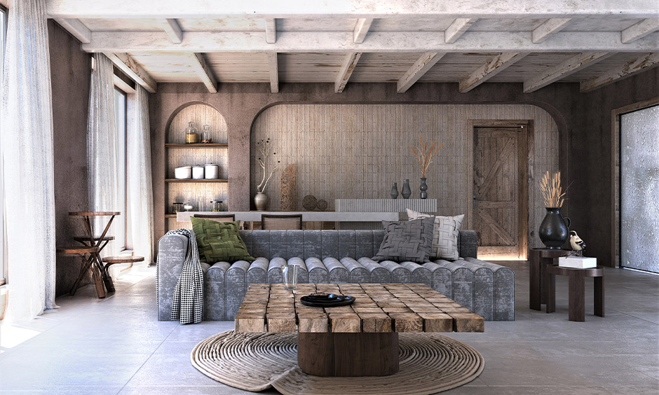 Rustic scandinavian interior design ideas where the living room will be the perfect choice for you