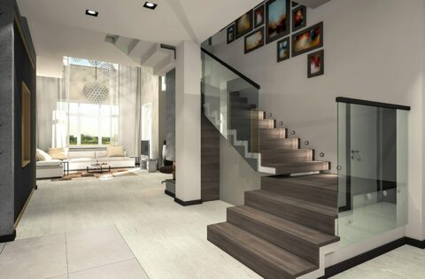 Glass staircase design ideas for your home