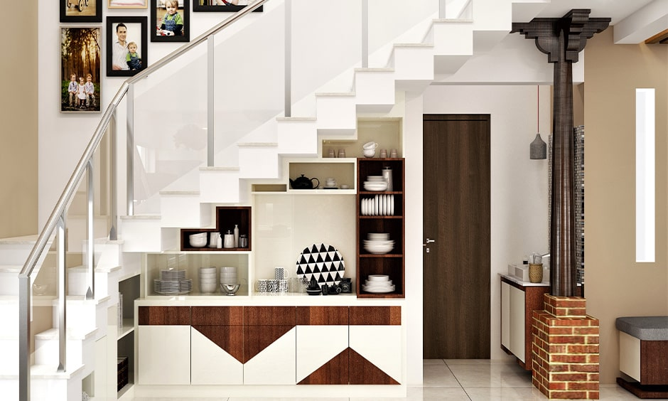 Modern glass staircase design for your home