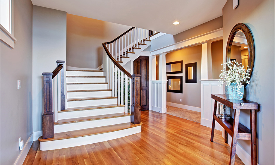 Beautiful wooden railing designs for stairs