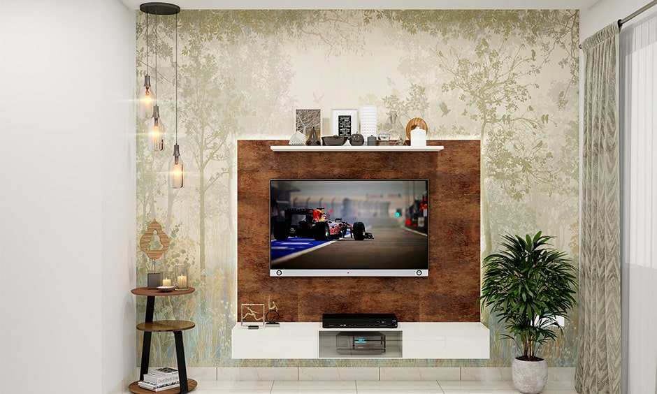 Luxe tv panel design for your living room