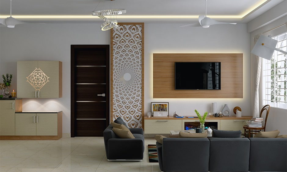 Simple tv panel design for your living room