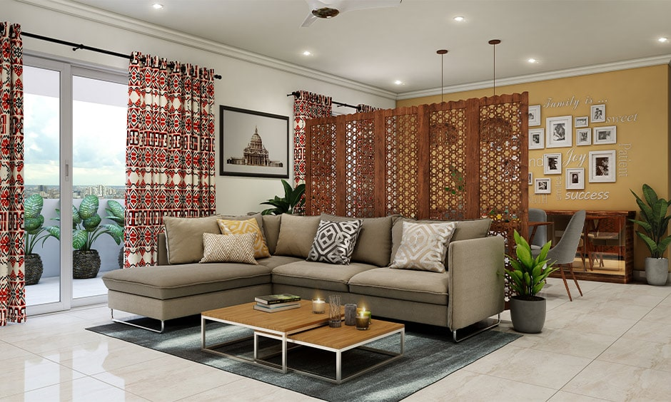 Rajasthani decor ideas interiors with jaalis provide partial views, ventilation and penetrate light