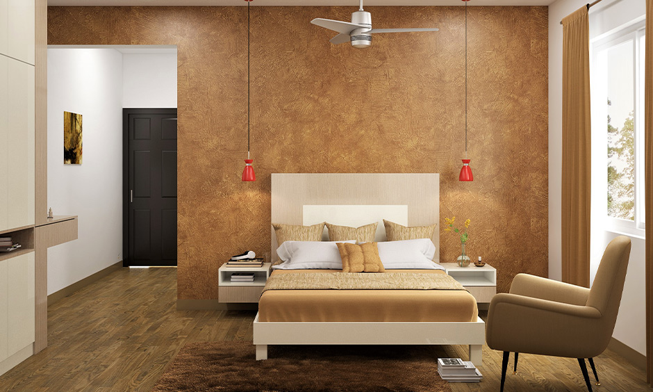 Veneer vs laminate give a traditional feel to the bedroom
