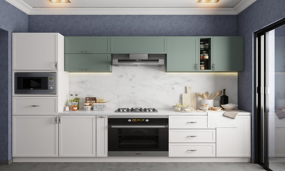 How to organize small kitchen on a budget
